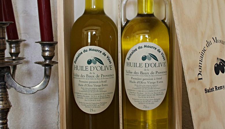 Huile d'olive AOP alpilles